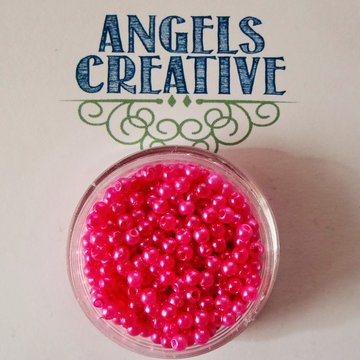 kralen parel 3mm fuchsia +/-5.5gram