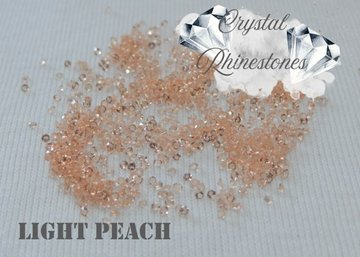MINI RHINESTONES PP03 LIGHT PEACH