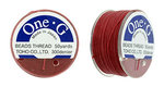 TOHO one-G Thread, 50 yard, Red