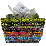 Paula Nadelstern, Where in the world, Fat quarter pack 15 pcs