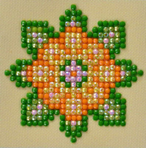 Diamond Dotz Flower Mandala 1