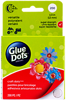 Glue Dots, dot & go roll