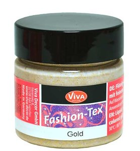 Viva fashion tex, 50 ml, goud