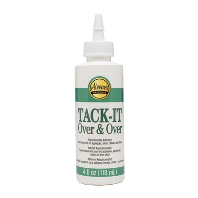 Aleene,s Tack it over and over glue, 118 ml