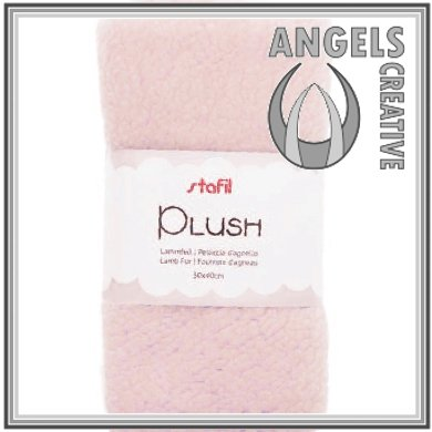 Plush, lamsvel roze