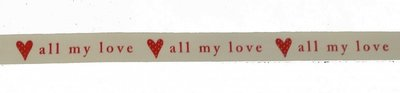 Band all my love 1.5cm