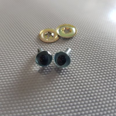 OOGJES donkerblauw 9 mm
