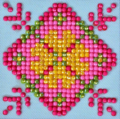 Diamond Dotz Patchwork Mandala 1