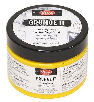 Viva grunge it, banana, geel, 150 ml