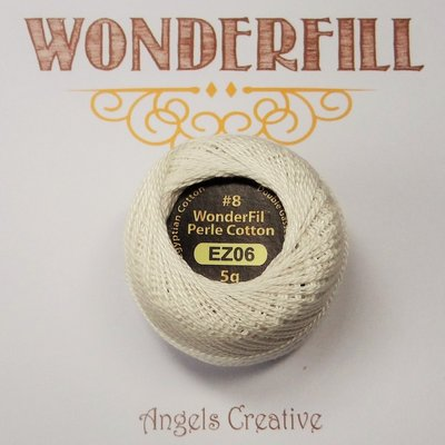 Wonderfill Eleganza No8 Pearl cotton, snow globe