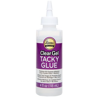 Aleene's lijm clear gel tacky, 118 ml