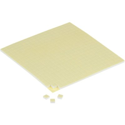 3D foam pads, afm 5x5x3 mm, 2vellen